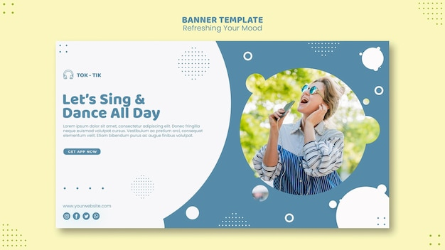 Refresh your mood banner template