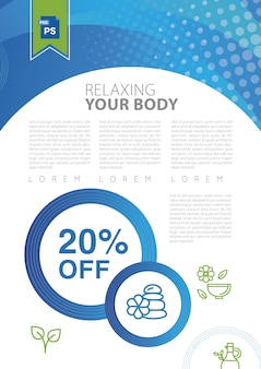 Relax your body in a spa