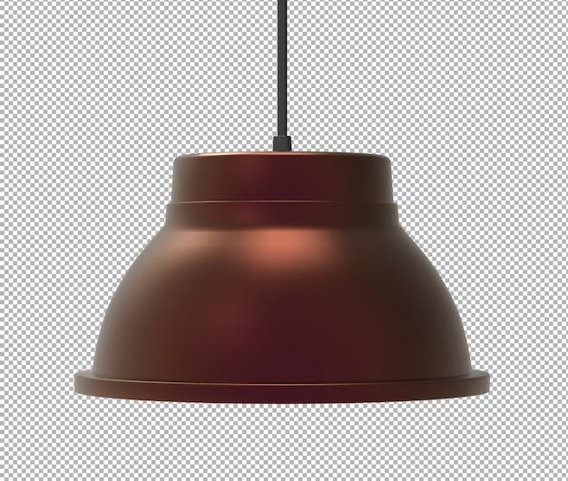 Визуализация изолированной потолочной лампы