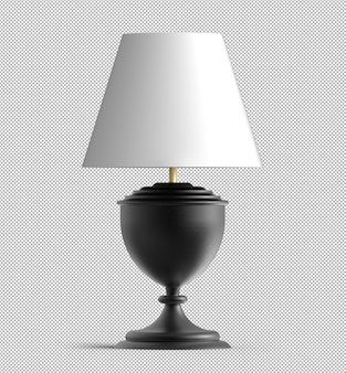 Визуализация изолированной настольной лампы