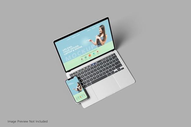 Адаптивный макет презентации экрана нескольких устройств изометрический вид изолирован