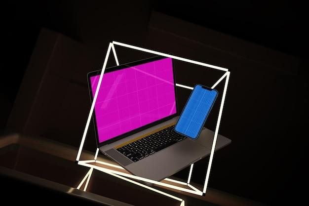 Responsive neon