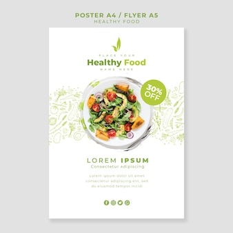 Restaurant poster / flyer template