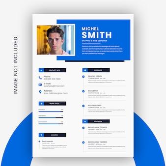 Resume template premium