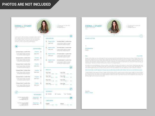 Resume template, professional resume template, creative resume, modern resume template