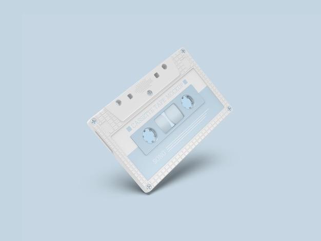 레트로 카세트 테이프 모형