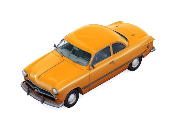 Ретро купе 1949 года макет