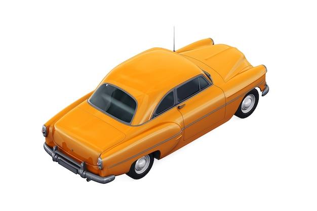 レトロなクーペ車1953モックアップ