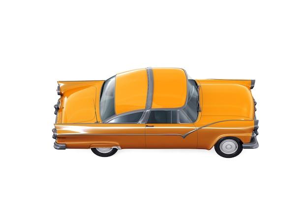 Ретро купе 1955 года макет