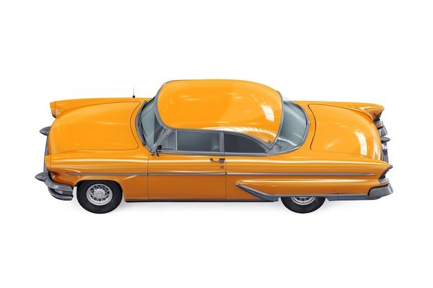 레트로 쿠페 자동차 1955 모형