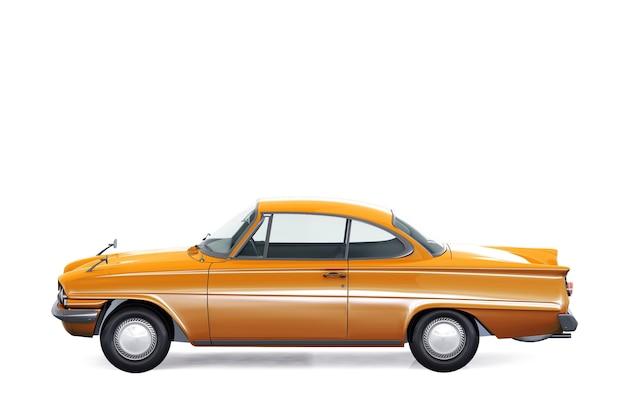 레트로 쿠페 자동차 1961 모형