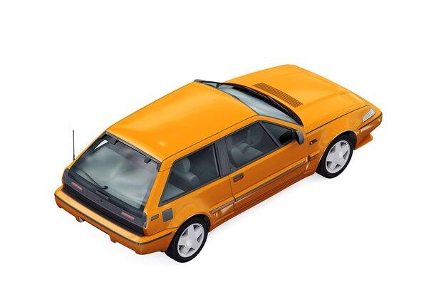 Ретро купе 1987 года макет