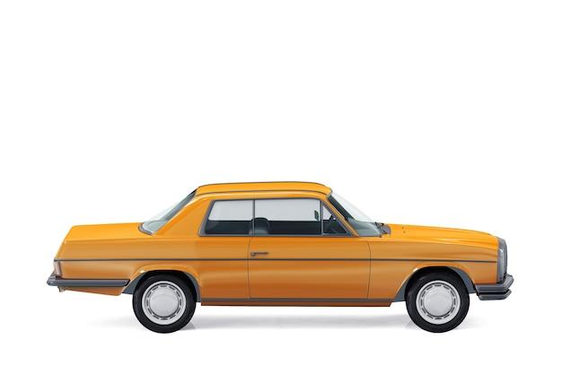 레트로 쿠페 자동차 모형