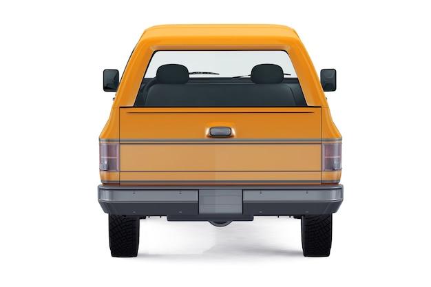 Mockup di auto suv 4x4 retrò 1976
