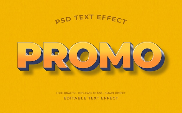 Retro text effect template