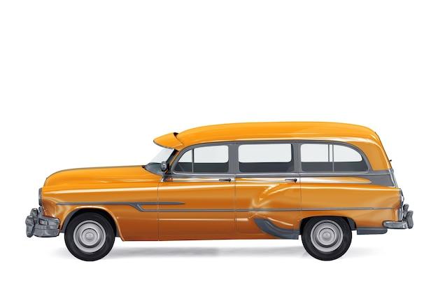 レトロワゴンコンビカー1953モックアップ