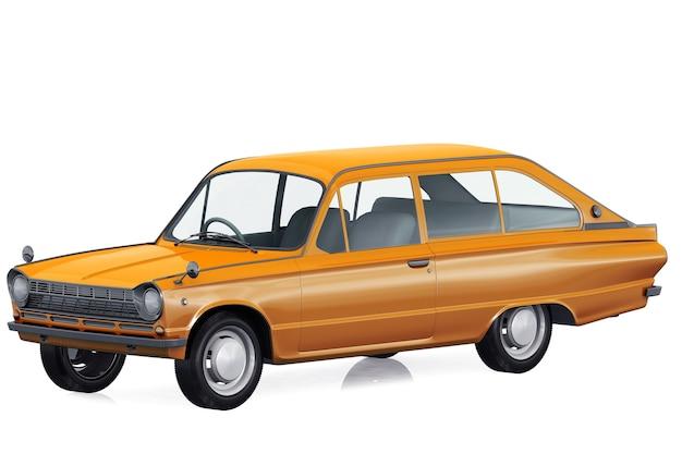 レトロワゴンコンビカー1966モックアップ