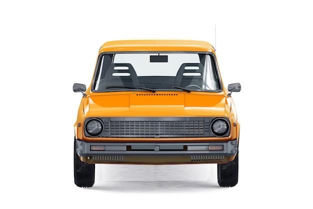 レトロワゴンコンビカー1975モックアップ