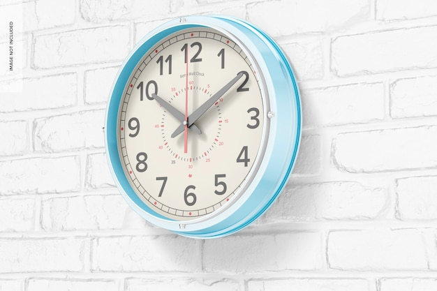 Ретро настенные часы, макет