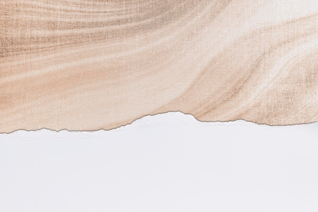 Sfondo di carta strappato mockup psd marmo arte fai da te