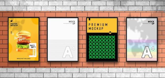 Придорожный флаер и макет плаката