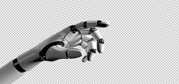 Рука робота-киборга