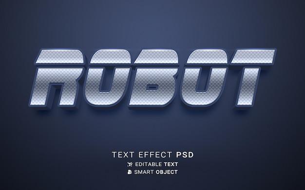 ロボットテキスト効果