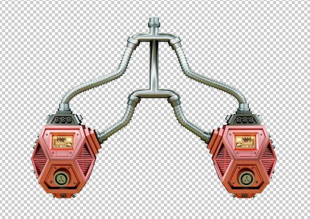 Роботизированное искусственное легкое человека. футуристическая концепция трансплантации органов