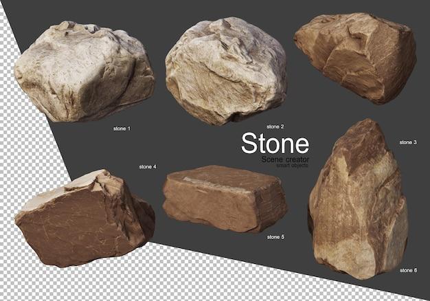 다양한 방식으로 암석 형성
