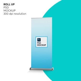 Roll up mockup