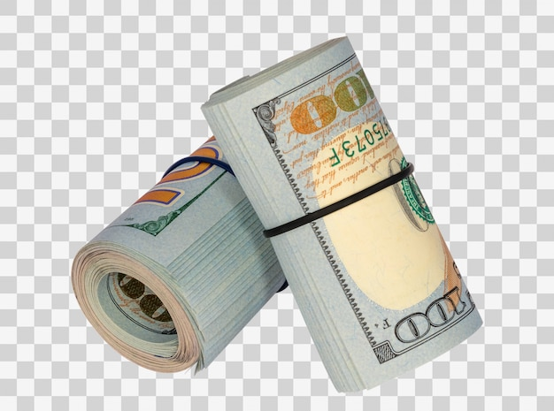 Rolls of money
