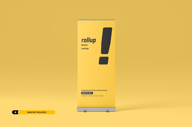 Rollup or x-banner mockup