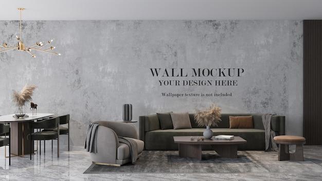 Room wallpaper mockup design
