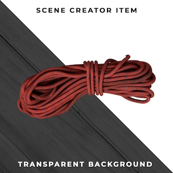 Rope isolated with clipping path.