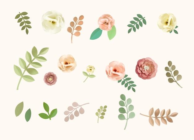 Концепция цветочной текстуры rose pattern