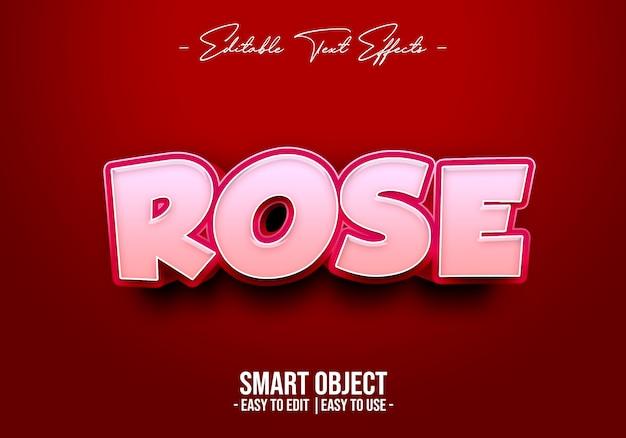 Стиль текста роз