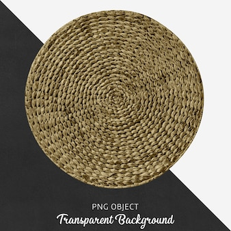 Round service on transparent background
