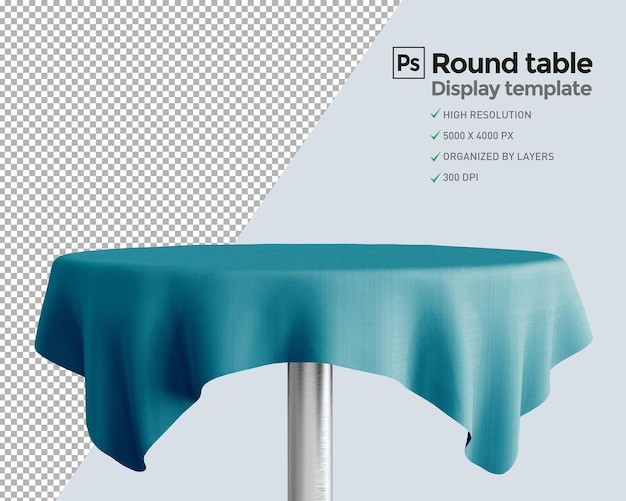 プレゼンテーションで製品を表示する円卓会議
