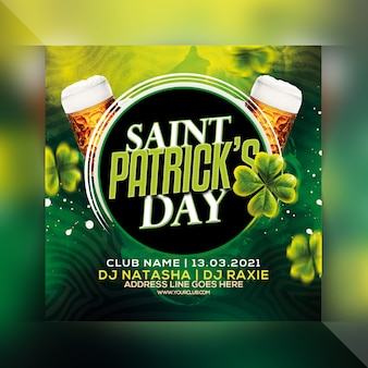 Saint. patrick's day flyer
