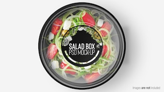 SALAD BOX WITH LAYER