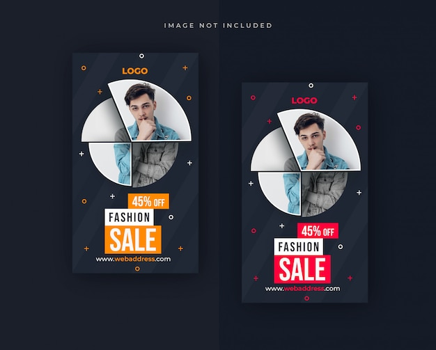 Sale facebook or instagram story  design