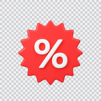 Значок продажи этикетки