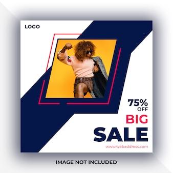 Sale social media post banner