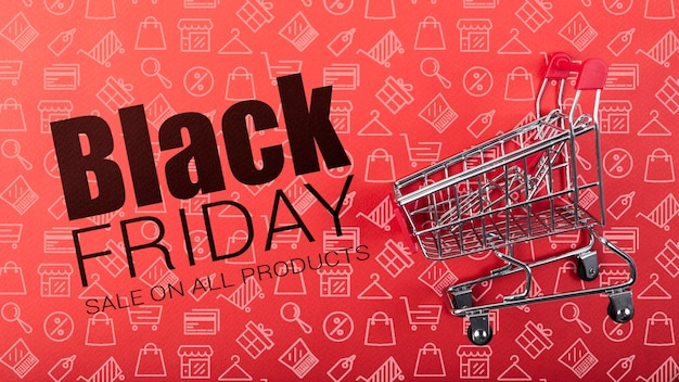 Sales available on black friday day