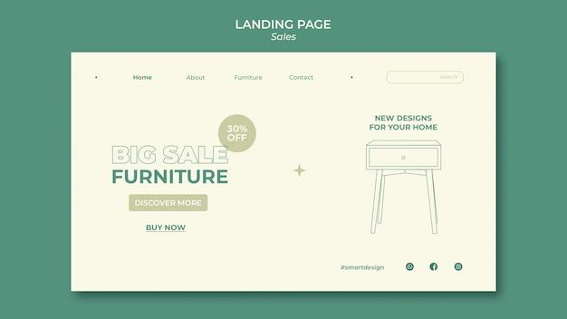 Progettazione del modello di pagina di destinazione delle vendite