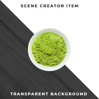 Sauce plate object transparent psd