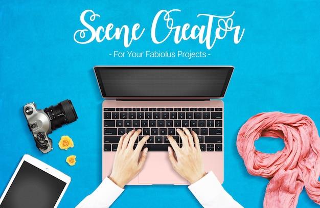 Scene creator mock up