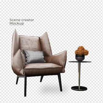 화분에 심은 꽃 장식 디자인 근처 장면 크리에이터 소파 목표 의자