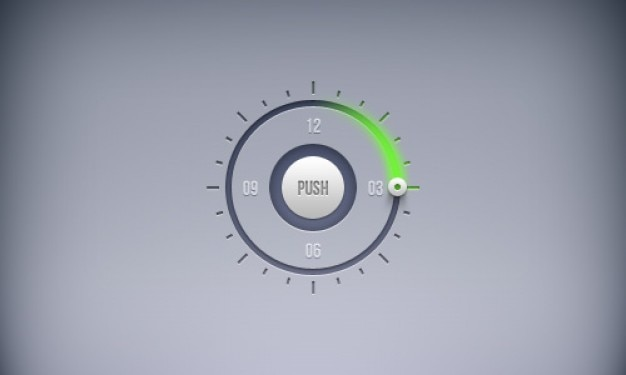 Schedule timer buttons in psd