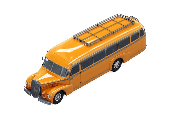 Макет школьного автобуса 1947 года